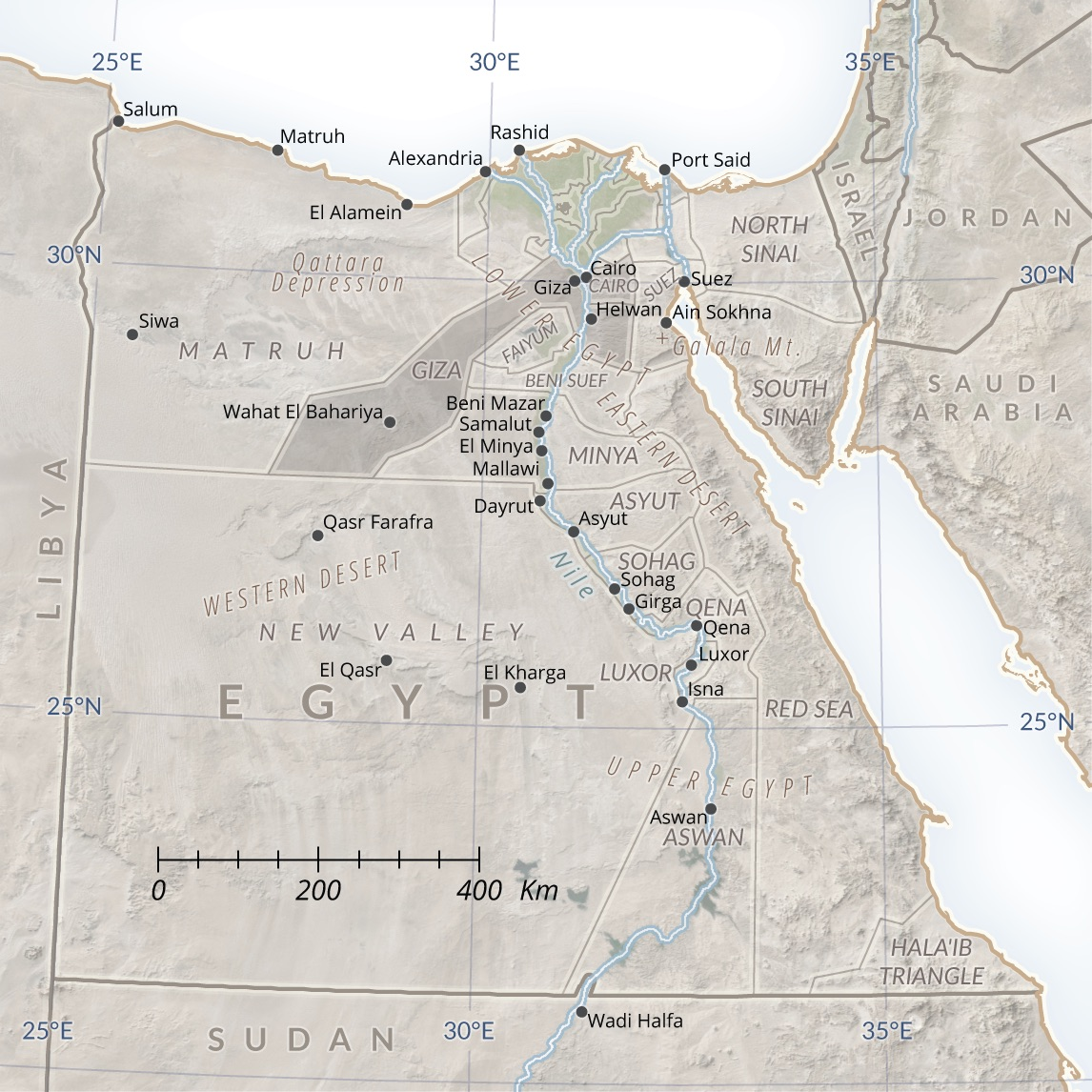 The Islamic States Pyramid Scheme Egyptian Expansion And The - Giza map