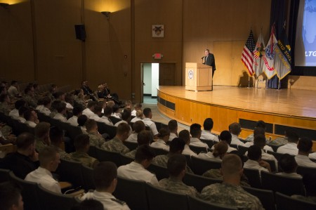 LTG(R) Cleveland delivers 2016 Yearling Lecture – Combating