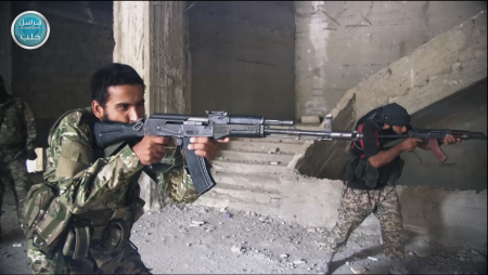 Halab Reporter_One of JN's training camp in Aleppo_27Oct15_1