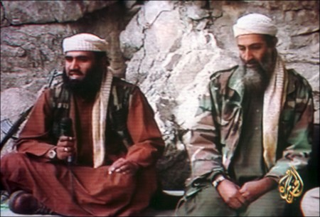 Video Of Osama Bin Laden  aired by Al Jazeera Television on October, 7th 2001